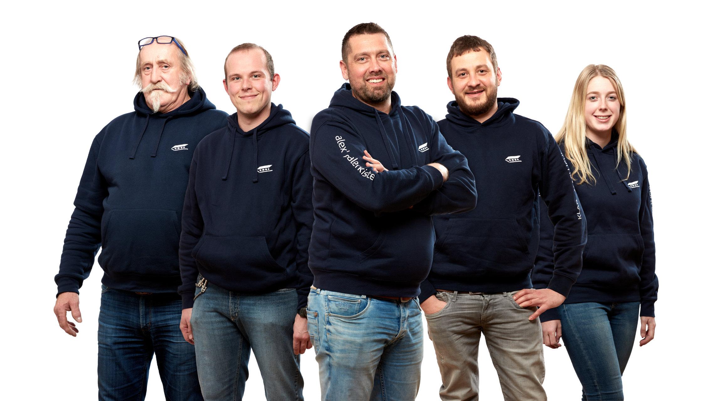 Alex Malerkiste - Team